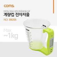 Coms 전자 저울 (컵형) / 계량컵 / 온도 / 디지털