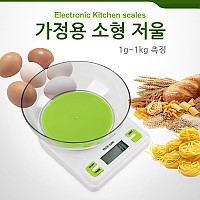 Coms 가정용 소형 저울(접시 포함), 1g~1kg