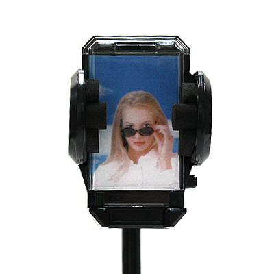 Coms 차량용 핸드폰 홀더/ 접착식/PCS/PDA/GPS용-아이씨뱅큐