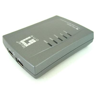 LevelOne USB/MFP 서버 - USB 네트웍 공유기-아이씨뱅큐