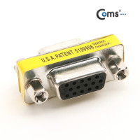 Coms 모니터 젠더(15F/15F), 3열 15핀 - 고급포장/VGA