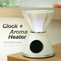 Coms 시계(탁상용/아로마 히터 포함)